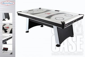 Blazer 7' Air Hockey Table by Cue and Case