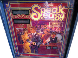 SpeakEasy Back Glass