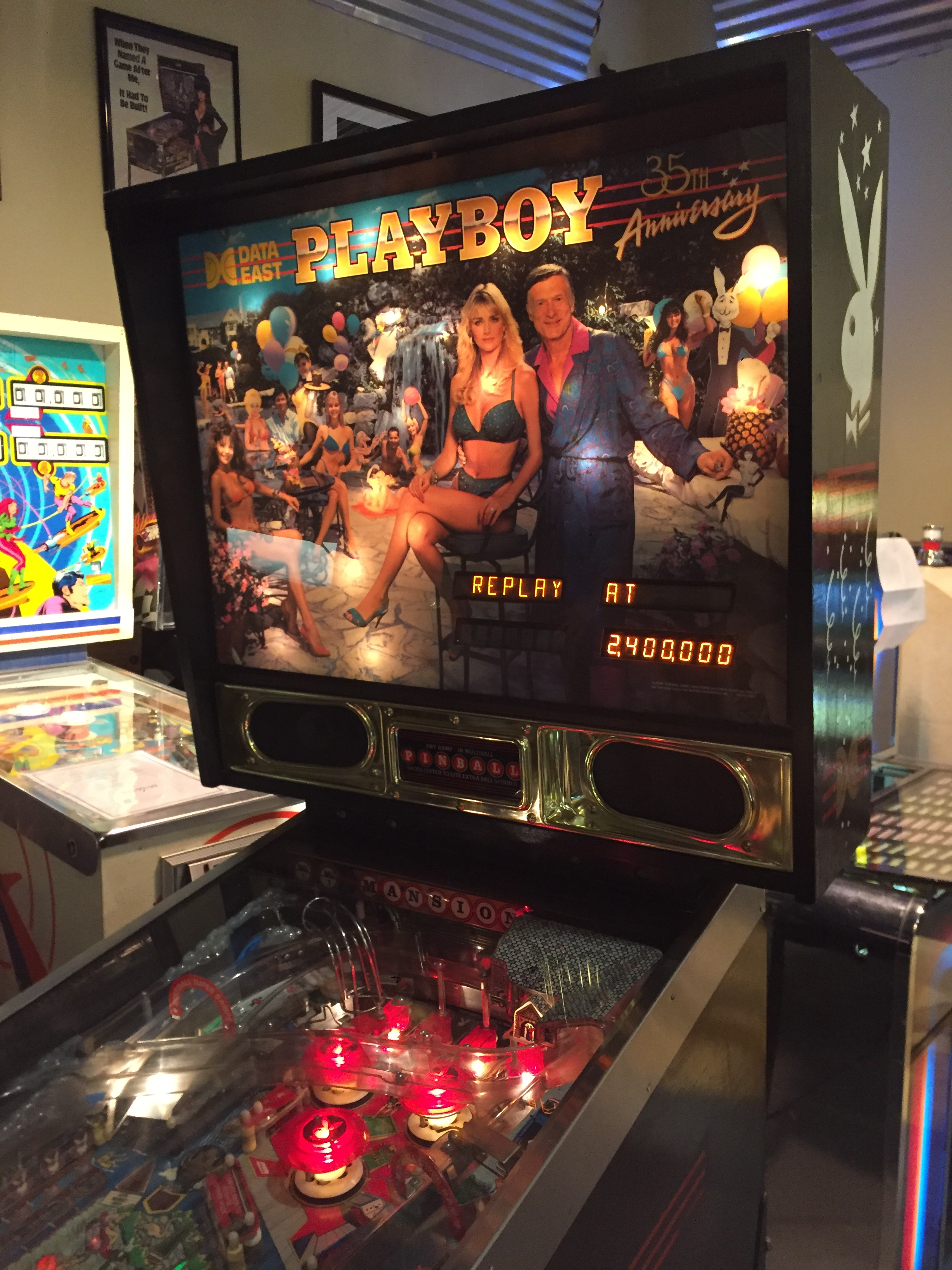Games People Play 187 Playboy Pinball 35th Anniversary By
